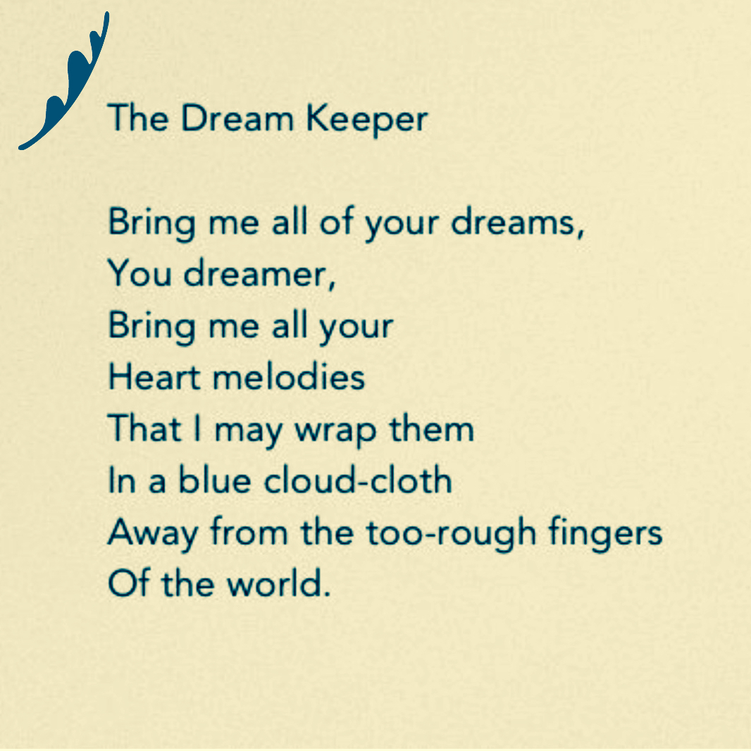 Short Sweet I Love You Quotes: The Dream Keeper By Langston Hughes